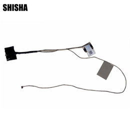 wholesale lvds cable Promo Codes - 10pcs lot Shisha New Original LVDS LED LCD Video Flex Cable For ASUS N550 N550JV N550JK N550L 1422-01SFOAS Screen Display Cable