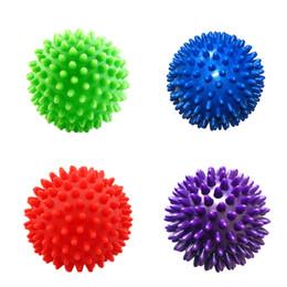 Rilassamento muscolare Allenamento pelvico sport fitness Piede massaggio palla Hedgehog Body Pain Stress Massage Relief Trigger Point da
