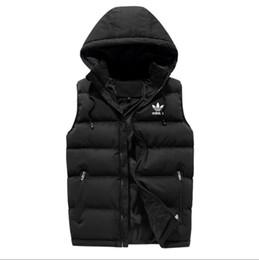 Cappotti invernali da uomo 6xl online-Gli uomini di lusso outer wear gilet invernale giù gilet piuma di design giacche gilet casual cappotto mens giù cappotti