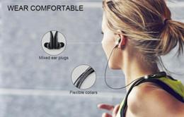 Canada Nouvelle arrivée EO-BG920 niveau U écouteur mini neckband v4.2 csr puce musique casque avec microphone hifi handfree sports inear earplug Offre