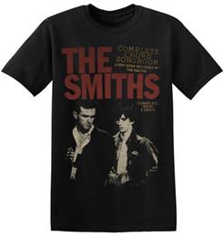 2019 camisetas graficas para hombres The Smiths T Shirt UK Vintage Rock Band Nueva impresión gráfica Unisex Men Tee 1-A-022 New Men's Fashion manga corta T-Shirt Hombres camisetas graficas para hombres baratos
