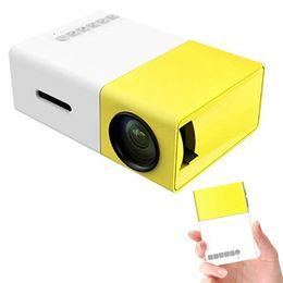 Filmes laptop on-line-Mini Projetor Portátil 1080 P LED Projetor Home Movie Projectors Suporte Laptop PC Smartphone Grande Presente Projetor de Bolso para o Partido Camping
