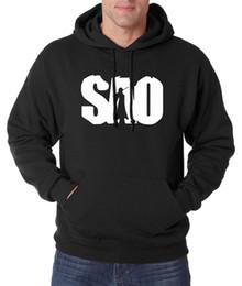 Wholesale Online Pullovers - New Arrival Anime Sword Art Online sweatshirts men 2016 autumn winter SAO hoodies men fleece high quality casual men tracksuit