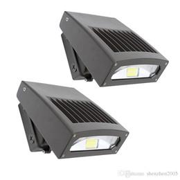 2019 versteckendes design 30W LED-Wand-Satz-Licht-dünner Entwurfs-justierbarer Kopf 5000K 200W HPS / HID-Ersatz-Außenwandlampen LED-Sicherheits-Flutlicht-Bereichs-Licht günstig versteckendes design