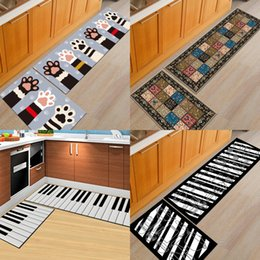 Wholesale Weaved Mat - Cute Cat Claw Printed Rug Bedroom Bedside Carpet Water Uptake Bathroom Kitchen Floor Mat Many Styles 36wn2 C R