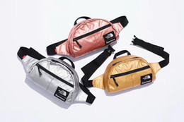 Wholesale rugby day - 2018 new arrival 18SS The North Sup Crossbody Clutch Bags fashion Men Women Bumbag Waterproof street Shoulder Bags outdoor bags