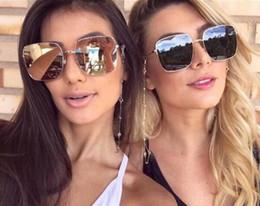Wholesale Mens Eyeglass Frames Square - brown square sunglasses Ladies Sun Glasses mens metal frame italy brand designer eyewear shades mirror new sunglasses 2018 new eyeglasses