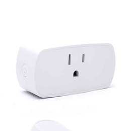 Wholesale Remote Control Power Outlets - Wifi Smart Socket With App Remote Control US Plug Mini Outlet Intelligent Device Smart Adapter Compatible With Alexa Echo Home Power Socket