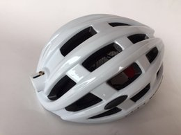 Wholesale Led Light Helmet - LED Light Cycling Helmet Bike Ultralight helmet Intergrally-molded Mountain Road Bicycle MTB Helmet Safe Men Women 49-59cm