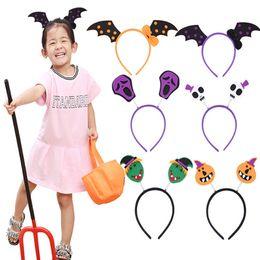Halloween bandeau Chauves-souris Citrouille Printemps Cheveux Bandes Hoop Enfants Drôle Partie Bandeaux Coiffure Enfants Cheveux Accessoires LE70 ? partir de fabricateur