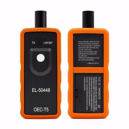 Capteurs électroniques en Ligne-Capteur OEC-T5 EL 50448 de moniteur de pression de pneu automatique EL50448 pour GM / Opel TPMS réinitialiser l'outil EL-50448 électronique