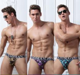 Wholesale Camouflage Sexy Underwear - New Sexy Camouflage Underwear Men Briefs Elastic Modal Fabric Gay Underwear Briefs For Man Underpants New