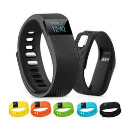Tw64 smartband smart sport armband online-TW64 Neue 12 Farben Armband Smart Band Fitness Aktivitäts Tracker Bluetooth 4.0 Smartband Sport Armband für iOS Android Handy