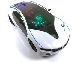 Parada de carro on-line-Carro de brinquedo das crianças universal bmw carro elétrico 3d lanterna música multifuncional modelo de carro esportivo tenda de abastecimento