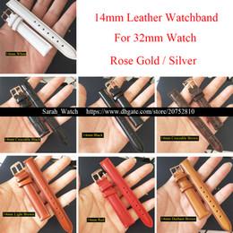 2019 алюминиевый 14 мм натуральная кожа смотреть полосы замена ремешок для часов ремень для 32 мм женщин Женские часы