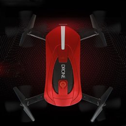 Wholesale Holding Camera - 2.4G Mini RC Drone 0.3MP HD Camera Portable Foldable Selfie Pocket Folding Quadcopter Altitude Hold Headless WIFI FPV RC Helicopter JY018
