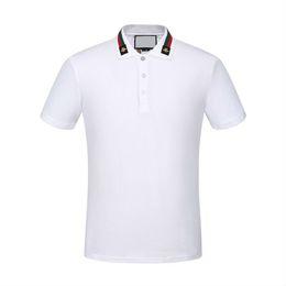 Wholesale Polo Original - 2017 Italy original polo t-shirt Medusa design brand Embroidery fashion crime print burlon Marcello Quality Short Sleeve Men Lapel Shirts
