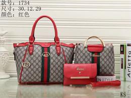 Wholesale Brand Name Women Handbag - New styles Handbag Famous Designer Brand Name Fashion Leather Handbags Women Tote Shoulder Bags Lady Leather Handbags Bags purse 1734