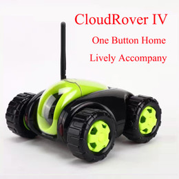 Wholesale Remote Controlled Electric Toy Tanks - RC Car with IP Camera 4CH Wifi tank Cloud Rover IV Video Playback Household Appliances IR Remote Control One Button Home FSWB