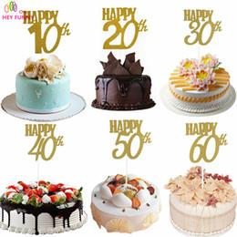 Discount Happy Birthday Cake Topper Wholesale