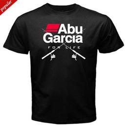 Garcia shorts online-Abu Garcia DUFRESNE UND REDDING Fishinger Galveston Panama T-Shirt 2018 Mode Kurzarm Schwarz Erwachsene T-Shirt S-2Xl