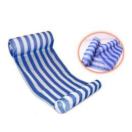 Flotadores inflables de agua online-3 colores de verano piscina inflable flotante agua hamaca salón cama silla verano inflable piscina flotante cama flotante