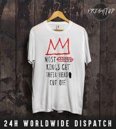 La plupart des jeunes rois se font couper la tête T-shirt haut Jay-Z Snoop Dogg 2Pac NWA 100% coton impression décontractée hommes à manches courtes T-shirt à col rond ? partir de fabricateur