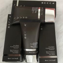 Wholesale Good Face Foundation - Brand New Becca Ever-Matte Poreless Priming Perfector 1.35oz 40ml Makeup Face Primer becca foundation primer Good quality