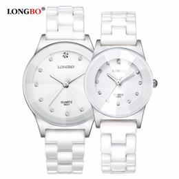 09e575c84ab 2019 mulher relógio longbo 2017 Marca de Luxo LONGBO Das Mulheres Dos  Homens de Cerâmica Assista