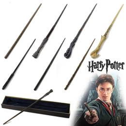 Harry Potter Varita mágica / Núcleo metálico Hermione Granger Voldemort Varita mágica / Colsplay Varita mágica Juguete de regalo de año nuevo navideño para niños desde fabricantes