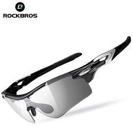 ROCKBROS gafas de ciclismo fotocrómicas polarizadas gafas de bicicleta Gafas de sol gafas de bicicleta de deportes al aire libre gafas con marco de miopía desde fabricantes
