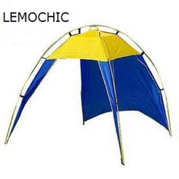 Wholesale Large Camping Tents - Ultralarge Brand New large 5 or more person one bedroom High quality camping beach party waterproof tent