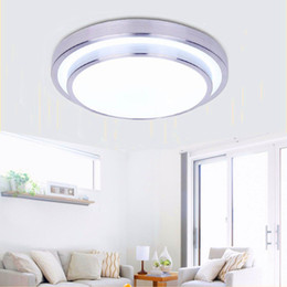 aluminium-kühler Rabatt LED-Deckenleuchten Dia 350mm, Aluminium + Acryl Hohe Helligkeit 220V 230V 240V, Warmweiß / Cool White 18W 24W 33W Led Lamp