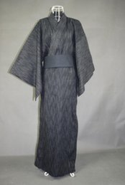 661b64140f 2018 summer traditional japanese men s yukata cotton bath long robe full  sleeve hanbok kimono male comfortable sleepwear male kimono robe outlet