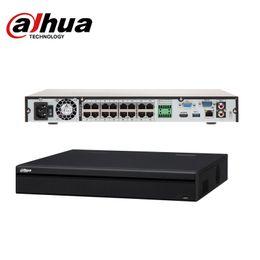 Wholesale Udp Dns - Dahua NVR Dahua NVR NVR5232-16P-4KS2E 16 Channel 1U 16 PoE 4K&H.265 Pro Network Video Recorder 2018 Hot Sale