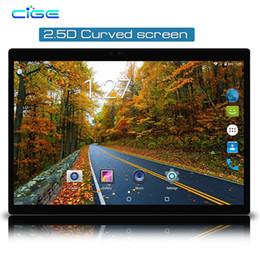2018 Alta dureza Scratchproof Tablet PC 10 polegada 2.5D G + G 1280 * 800 Tela IPS Ultra-clara Android 7.0 3G 4G 8 Núcleo Comprimidos