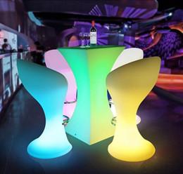2019 кафе-бар отеля Освещенный круглый стол для коктейлей с подсветкой для кофейной станции / Party / Hotel / Bar creative Журнальный столик LED Bubble light. дешево кафе-бар отеля