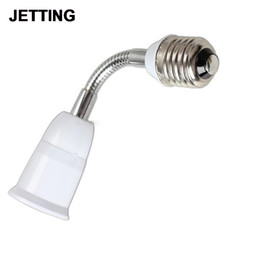 Wholesale Extended Socket - Flexible E27 to E27 16cm Length Extend LED light Bulb lamp Holder Converters Adapter Socket Base Type Extension 1 Pc