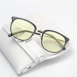 Wholesale cat cameras - Oval Computer Glasses Men & Women Anti-Blu-ray Radiation Protection Glasses Coated Tone Camera Cat Eye Computer Goggles NX