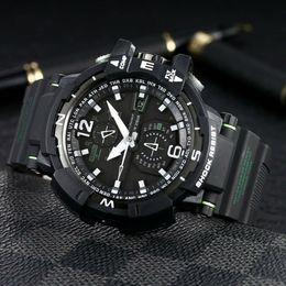 Relógio de luxo GW-A1100 52mm relógio de pulso originais Movimento Digital homens YG fábrica de esportes relógios de Pulso À Prova D 'Água de