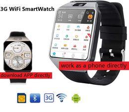3G WIFI Smart Watch 512MB / 4GB w / Facebook / Twitter / WhatsApp Bluetooth 4.0 Smartwatch ж / шагомер камеры SIM-карты телефонный звонок cheap smart watch 4gb от Поставщики смарт-часы 4gb