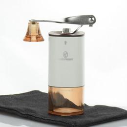 Wholesale Quality Coffee Grinder - High Quality Stocked Ciq Plastic Gift Box Portable Coffee Grinder Travel Bean Mill 15g Powder V60 Dripper Maker