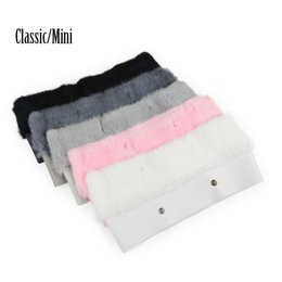 Мешок онлайн-11 Colors Dyed Trim Bag Plush Trim for O BAG Thermal Plush Decoration  Fur Fit for Classic Big Mini Obag