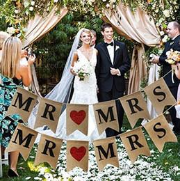 Hot linho rabo de andorinha bandeira Dia de Ação de Graças festa de casamento decoração DIY jute flags10pcs de Fornecedores de café, mexendo, varas