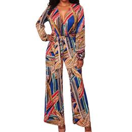 264a51192175 Sishot Jumpsuits For Women 2018 Elegant Lont Pants Wide Leg Lace Up  Contrast Color Autumn Rompers Womens Jumpsuit Plus Size