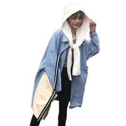 Wholesale trench coats for ladies - Maternity Show thin coat Long Loose Hooded Fashion trench coat for Pregnant Women Pregnancy Coats Large size ladies Outerwear