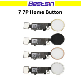 Wholesale Iphone Home Buttons - Bestsin For iphone 7 7plus Home Button Fingerprint button Flex Cable Replacement parts without Touch ID and Touch Function
