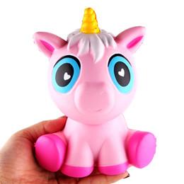 Wholesale Kawaii Design - Kawaii Squishy Unicorn Jumbo New Design Unicorn Cute Slow Rising Squishy Toys Decompression Toys Kids Gift with Retail Package Wholesale