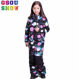 Gsou Snow Winter Ski suit For Girls Kids Waterproof Warm Snowboarding Ski  Jacket Pants Snowboard Outdoor Skiing Snow Wear 1c5e30ae7