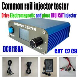 audi diag Desconto Common Rail Injector Tester DCRI188A Unidade HEUI CAT C7 C9 Eletromagnética piezo Common Rail Injector para Bosch injetor Delphi